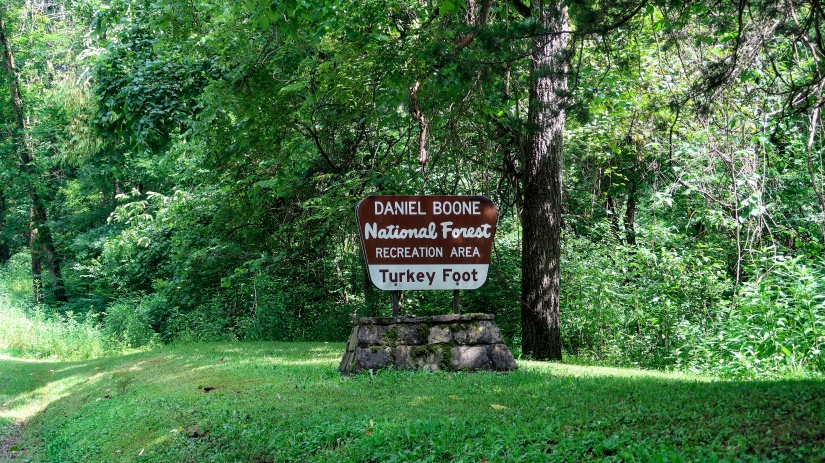 Mini review – Free Campsite Daniel Boone National Forest Turkey Footcampground