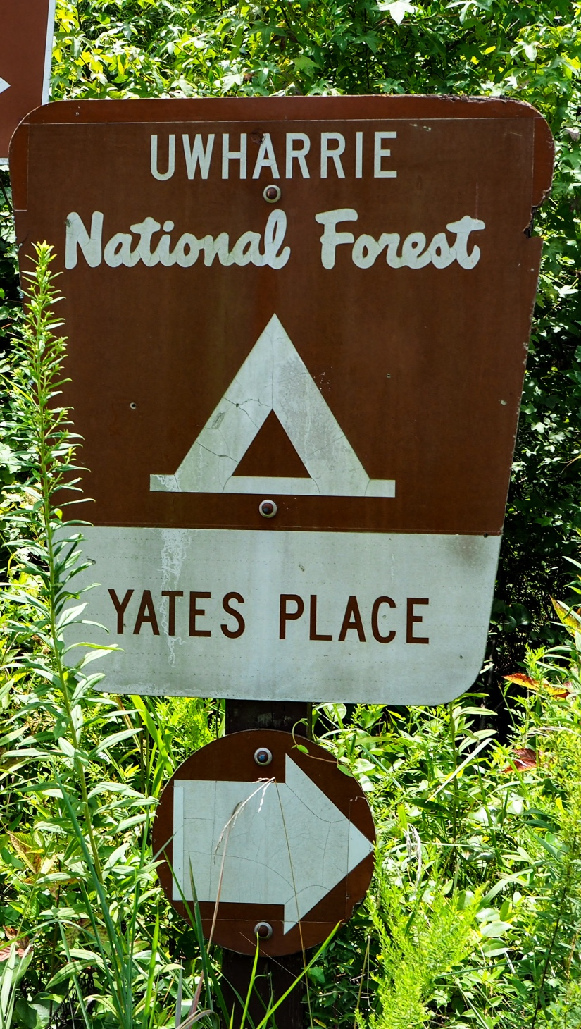 Mini review – Free Campsite Uwharrie National Forest Yates PlaceCampground